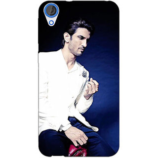 Jugaaduu Bollywood Superstar Sushant Singh Rajput Back Cover Case For HTC Desire 826 - J590929
