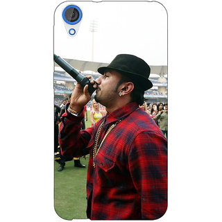Jugaaduu Bollywood Superstar Honey Singh Back Cover Case For HTC Desire 826 - J591178