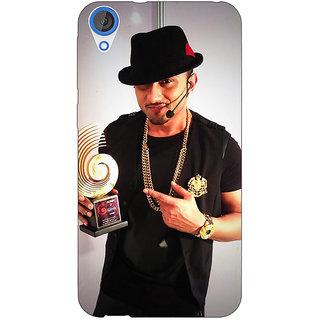Jugaaduu Bollywood Superstar Honey Singh Back Cover Case For HTC Desire 826 - J591180