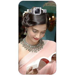Jugaaduu Bollywood Superstar Sonam Kapoor Back Cover Case For Samsung Galaxy A3 - J571070