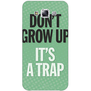 Jugaaduu Quote Back Cover Case For Samsung Galaxy A3 - J571348