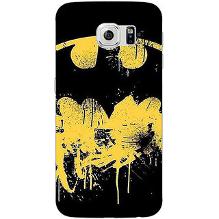 Jugaaduu Superheroes Batman Dark knight Back Cover Case For Samsung S6 Edge - J600011