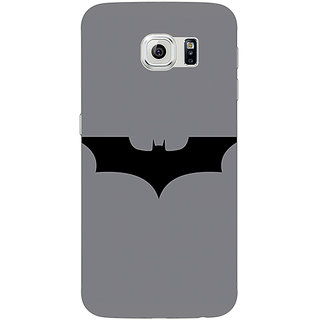 Jugaaduu Superheroes Batman Dark knight Back Cover Case For Samsung S6 Edge - J600018