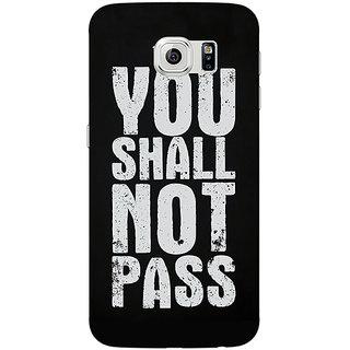 Jugaaduu LOTR Hobbit Gandalf Back Cover Case For Samsung S6 Edge - J600362