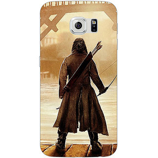Jugaaduu LOTR Hobbit  Back Cover Case For Samsung S6 Edge - J600374