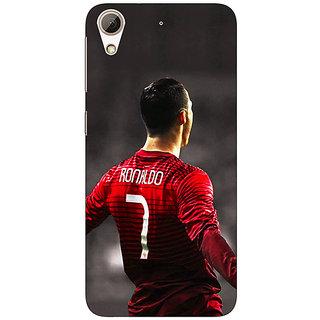 Jugaaduu Cristiano Ronaldo Portugal Back Cover Case For HTC Desire 626G+ - J940321
