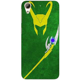 Jugaaduu Superheroes Loki Back Cover Case For HTC Desire 626G+ - J940341