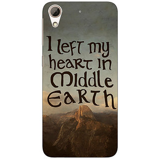 Jugaaduu LOTR Hobbit  Back Cover Case For HTC Desire 626G+ - J940377