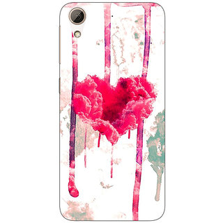 Jugaaduu Love Heart  Back Cover Case For HTC Desire 626G+ - J940707