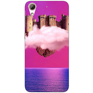 Jugaaduu Flying Castle Dream Back Cover Case For HTC Desire 626G+ - J940716