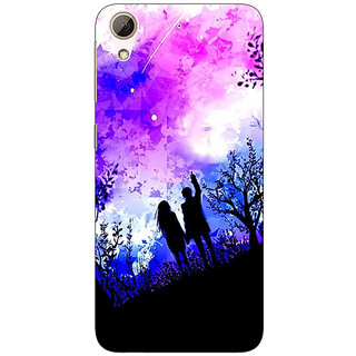 Jugaaduu Date Night Back Cover Case For HTC Desire 626G+ - J940717