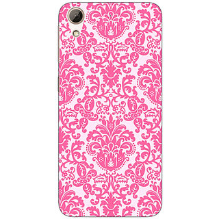 Jugaaduu Pretty Pink Back Cover Case For HTC Desire 626G+ - J940770