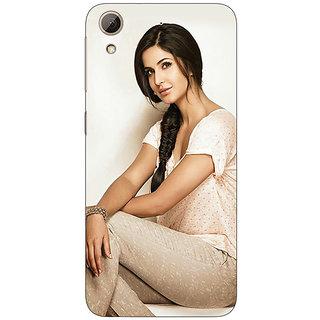Jugaaduu Bollywood Superstar Katrina Kaif Back Cover Case For HTC Desire 626G+ - J941056