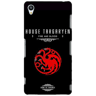 Jugaaduu Game Of Thrones GOT House Targaryen  Back Cover Case For Sony Xperia Z4 - J580144