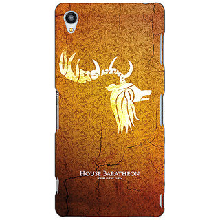 Jugaaduu Game Of Thrones GOT House Baratheon  Back Cover Case For Sony Xperia Z4 - J580171