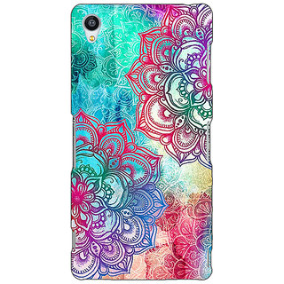 Jugaaduu Hot Doodle Pattern Back Cover Case For Sony Xperia Z4 - J580210