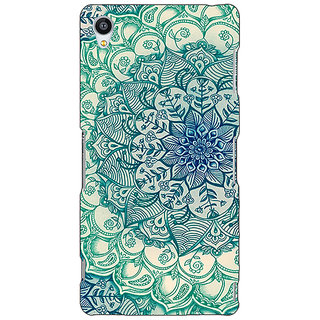 Jugaaduu Emerald Doodle Pattern Back Cover Case For Sony Xperia Z4 - J580216