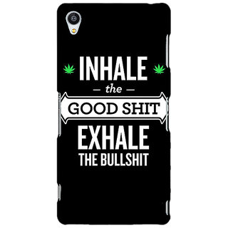 Jugaaduu Weed Quotes Back Cover Case For Sony Xperia Z4 - J580500