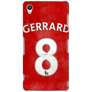 Jugaaduu Liverpool Gerrard Back Cover Case For Sony Xperia Z4 - J580546