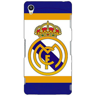 Jugaaduu Real Madrid Back Cover Case For Sony Xperia Z4 - J580594