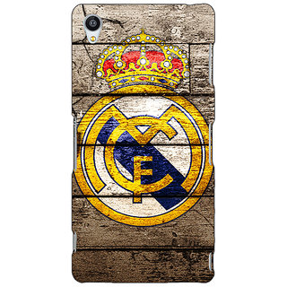 Jugaaduu Real Madrid Back Cover Case For Sony Xperia Z4 - J580596