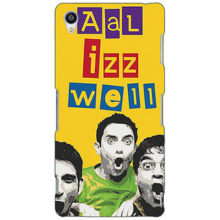 Jugaaduu Bollywood Superstar Three Idiots All is Well Back Cover Case For Sony Xperia Z4 - J581111