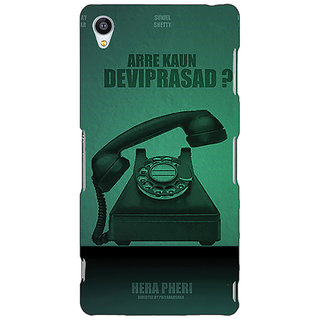 Jugaaduu Bollywood Superstar Hera Pheri Devi Prasad Back Cover Case For Sony Xperia Z4 - J581112
