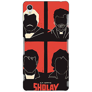 Jugaaduu Bollywood Superstar Sholay Back Cover Case For Sony Xperia Z4 - J581124