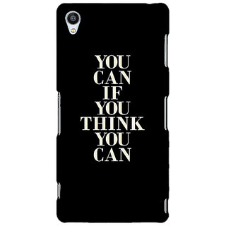 Jugaaduu Quote Back Cover Case For Sony Xperia Z4 - J581480