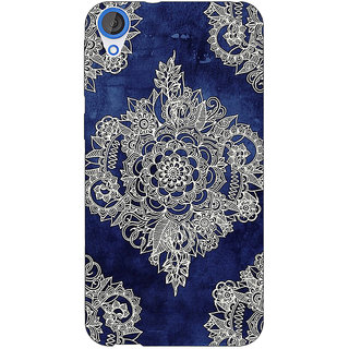 Jugaaduu Vintage Luxury Pattern Back Cover Case For HTC Desire 826 - J590227