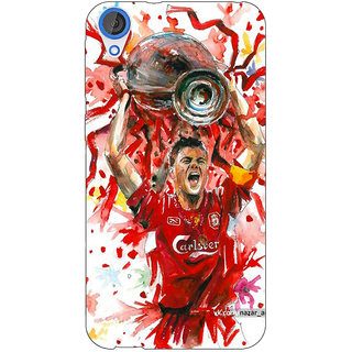 Jugaaduu Liverpool Gerrard Back Cover Case For HTC Desire 826 - J590550