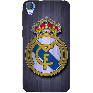 Jugaaduu Real Madrid Back Cover Case For HTC Desire 826 - J590589