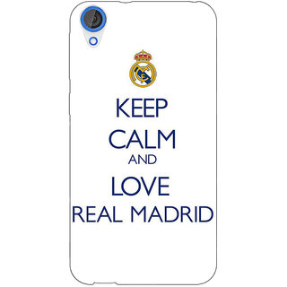 Jugaaduu Real Madrid Back Cover Case For HTC Desire 826 - J590600