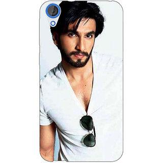 Jugaaduu Bollywood Superstar Ranveer Singh Back Cover Case For HTC Desire 826 - J590957