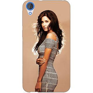 Jugaaduu Bollywood Superstar Katrina Kaif Back Cover Case For HTC Desire 826 - J590993