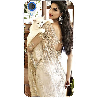 Jugaaduu Bollywood Superstar Sonam Kapoor Back Cover Case For HTC Desire 826 - J590998
