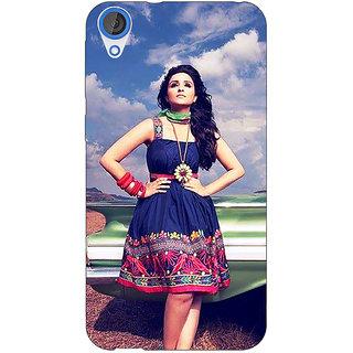 Jugaaduu Bollywood Superstar Parineeti Chopra Back Cover Case For HTC Desire 826 - J591003