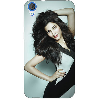 Jugaaduu Bollywood Superstar Shruti Hassan Back Cover Case For HTC Desire 826 - J591015