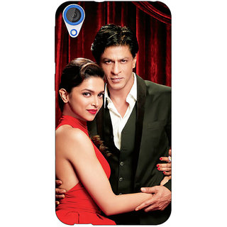 Jugaaduu Bollywood Superstar Deepika Padukone Shahrukh Khan Back Cover Case For HTC Desire 826 - J591024