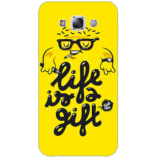Jugaaduu Life Quote Back Cover Case For Samsung Galaxy A3 - J571415