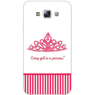 Jugaaduu Princess Back Cover Case For Samsung Galaxy A3 - J571421