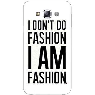 Jugaaduu Fashion Quote Back Cover Case For Samsung Galaxy A3 - J571428