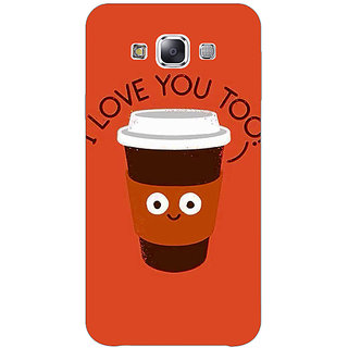 Jugaaduu Coffee Love Back Cover Case For Samsung Galaxy A3 - J571433