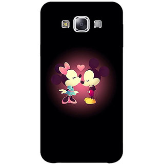 Jugaaduu Mickey Minnie Mouse Back Cover Case For Samsung Galaxy A3 - J571440