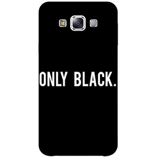 Jugaaduu Quote Back Cover Case For Samsung Galaxy A3 - J571479