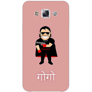 Jugaaduu Crime Master GOGO Back Cover Case For Samsung Galaxy A3 - J571488