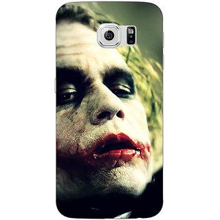 Jugaaduu Villain Joker Back Cover Case For Samsung S6 Edge - J600036
