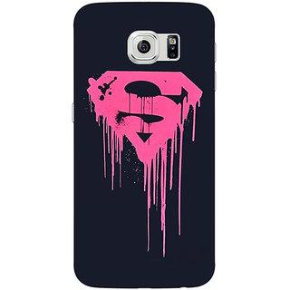 Jugaaduu Superheroes Superman Back Cover Case For Samsung S6 Edge - J600379