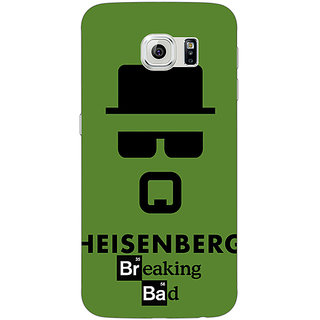 Jugaaduu Breaking Bad Heisenberg Back Cover Case For Samsung S6 Edge - J600414