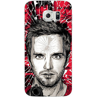 Jugaaduu Breaking Bad Back Cover Case For Samsung S6 Edge - J600425